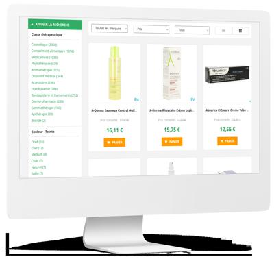 Pharmacie Vanderelest - Catalogue