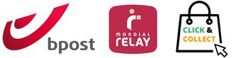 Bpost Mondial Relay click&collect