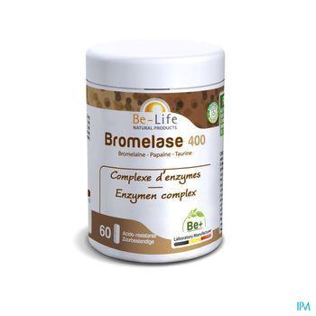 bromelase-400-enzymes-be-life-60-gelules