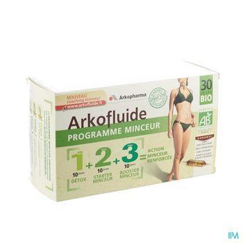 arkofluide-programme-minceur-30-ampoules-x-15-ml