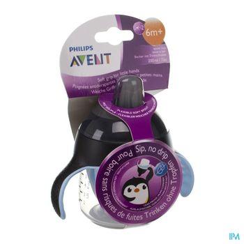 avent-gobelet-anti-fuite-pinguin-noir-200-ml-a-partir-de-6-mois