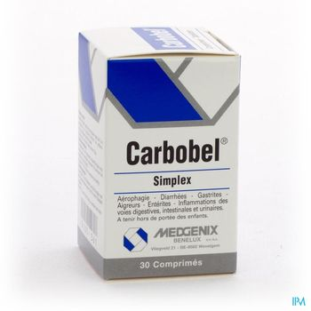 carbobel-simplex-30-comprimes
