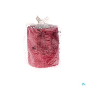 coban-3m-bandage-auto-adherent-elastique-rouge-75-cm-x-65-m