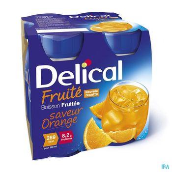 delical-boisson-fruitee-orange-4-x-200-ml