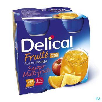 delical-boisson-fruitee-multi-fruits-4-x-200-ml