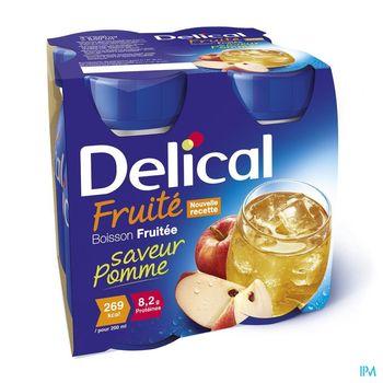 delical-boisson-fruitee-pomme-4-x-200-ml