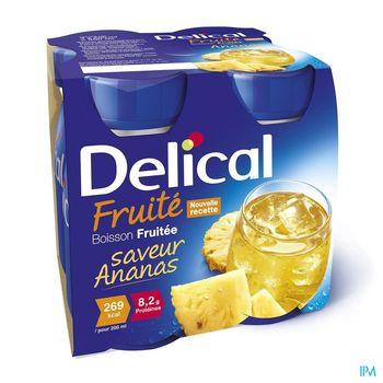 delical-boisson-fruitee-ananas-4-x-200-ml