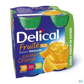 delical-boisson-fruitee-orange-edulcoree-4-x-200-ml