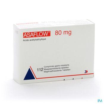 asaflow-80-mg-112-comprimes-gastro-resistants-x-80-mg