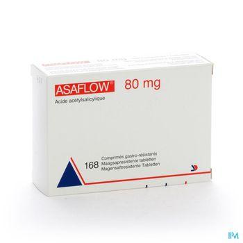 asaflow-80-mg-168-comprimes-gastro-resistants-x-80-mg