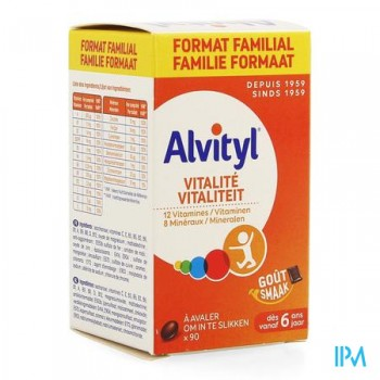 alvityl-vitalite-90-comprimes