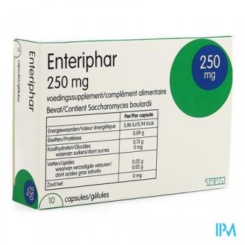 enteriphar-10-gelules-x-250-mg