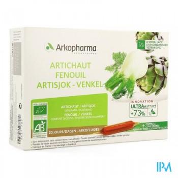 arkofluide-artichaut-fenouil-bio-20-ampoules