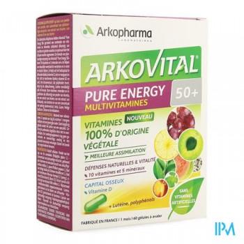 arkovital-pure-energy-multivitamines-50-60-gelules