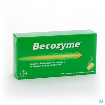 becozyme-30-comprimes-effervescents